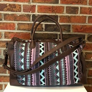 Mossimo Supply Co. Aztec Weekender Bag